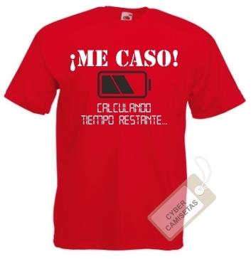 8a5d6d254c8c Camiseta Despedida de Soltero Me Caso - CyberCamisetas.com