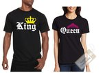 Camisetas Pareja Queen King