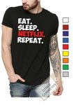 Camiseta Netflix Repeat