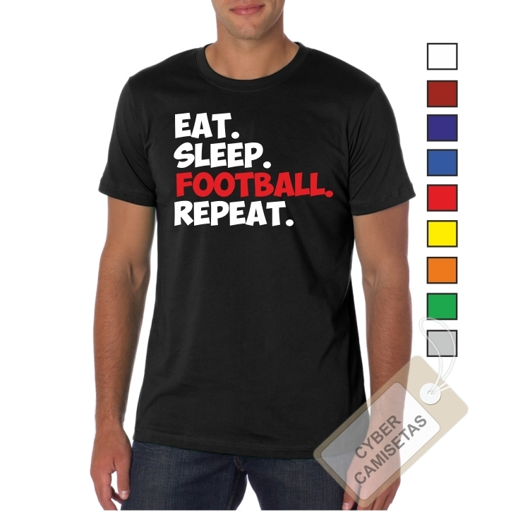 Camiseta Football Repeat